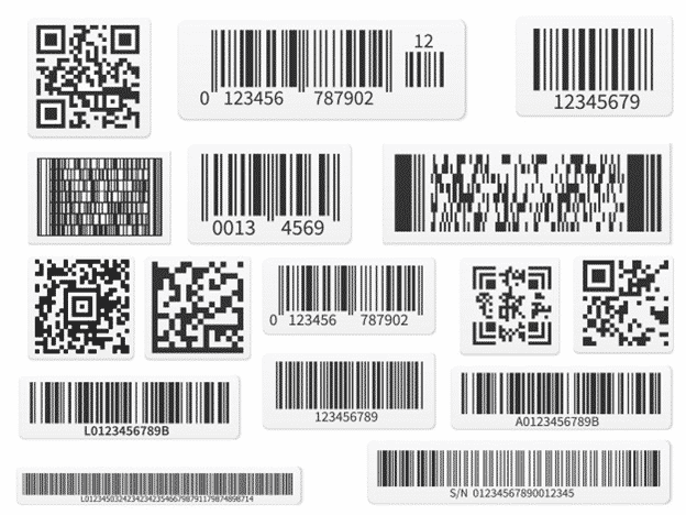 Different Barcode samples