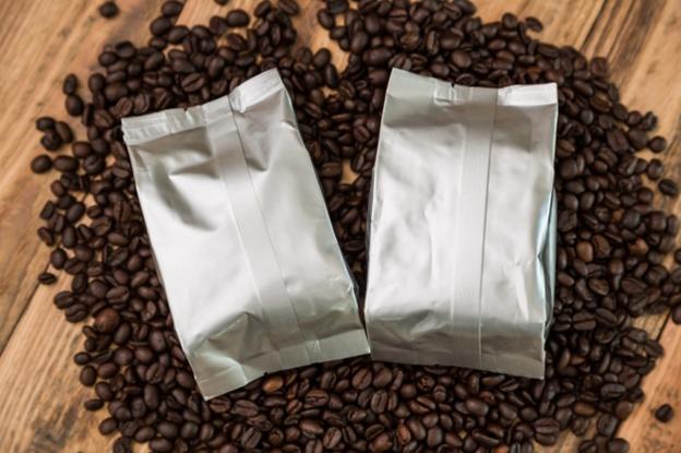 Metalized BOPP coffee packs