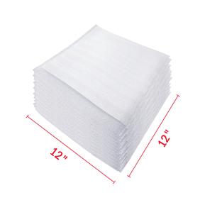 12″ x 12″ Packaging Foam Sleeves