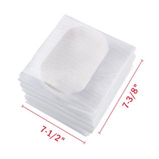 7-3/8″ x 7-1/2″ Foam Wrap Cup Pouches
