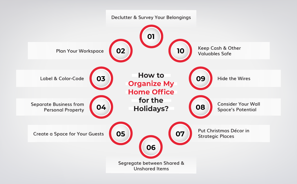 What Can I Do To Organize My Home Office for the Holidays