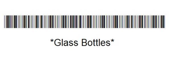 Glass Bottles Bar Code