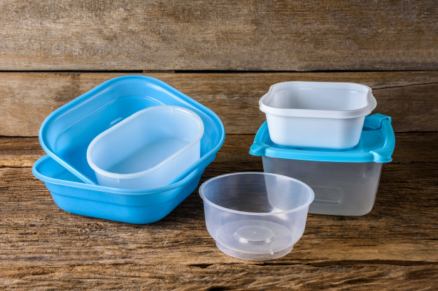 small plastic food container