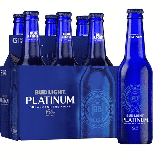 Bud Light Platinum Label