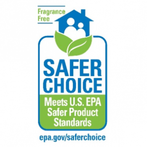 Safer Choice Fragrance-free label