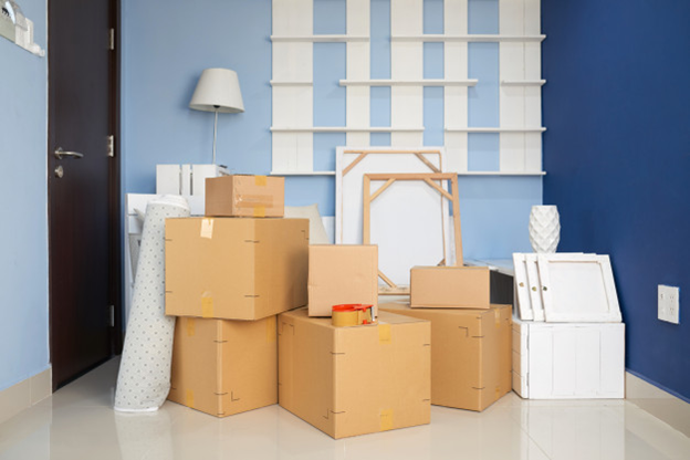 Moving Boxes and Supplies