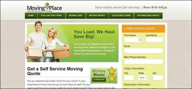 Storage Unit for Cross-Country Moves