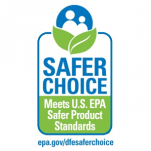 Safer Choice industrial and institutional product label