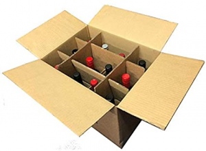 packing and moving wine bottles