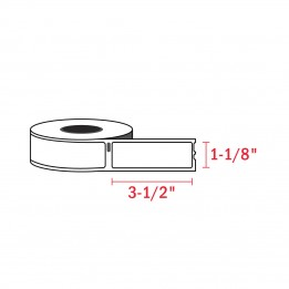 Compatible Dymo 30320 White Address Labels 1-1/8″ x 3-1/2″