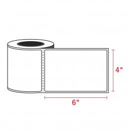 4″ x 6″ Direct Thermal Labels – 3″ Core