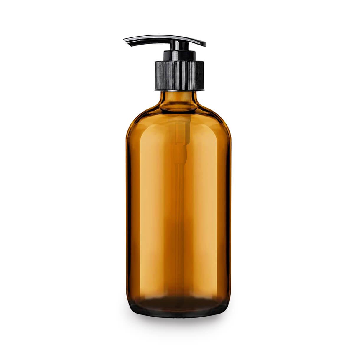 amber-glass-pump