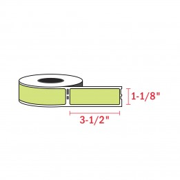 Compatible Dymo 30252 Green Address Labels 1-1/8″ x 3-1/2″ (350 / Roll)