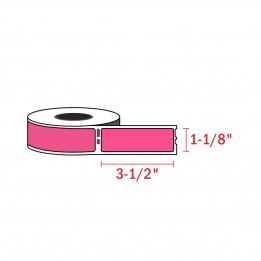 Compatible Dymo 30252 Magenta Address Labels 1-1/8″ x 3-1/2″ (350 / Roll)
