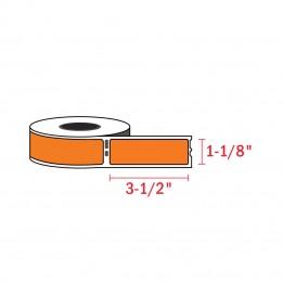 Compatible Dymo 30252 Orange Address Labels 1-1/8″ x 3-1/2″ (350 / Roll)