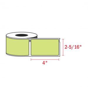 Dymo 30256_4 x 2-5 1 6_green