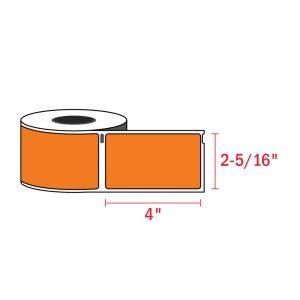 Dymo 30256_4 x 2-5 1 6_orange