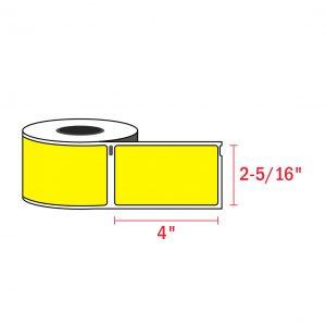 Dymo 30256_4 x 2-5 1 6_yellow