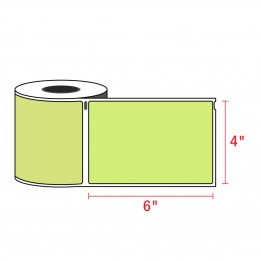 Compatible Dymo 1744907 4XL GREEN Shipping Labels 4″ x 6″ (220 / Roll)