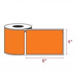 Compatible Dymo 1744907 4XL ORANGE Shipping Labels 4″ x 6″ (220 / Roll)