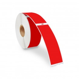 Dymo 30252 Red Compatible Address Labels 1-1/8″ x 3-1/2″