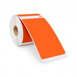 Compatible Dymo 30256 ORANGE Shipping Labels 2-5/16″ x 4″