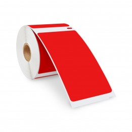 Compatible Dymo 30256 RED Shipping Labels 2-5/16″ x 4″