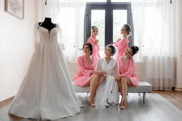 How should you pack a wedding dress for shipping