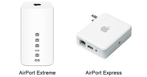 AirPort Express and Extreme