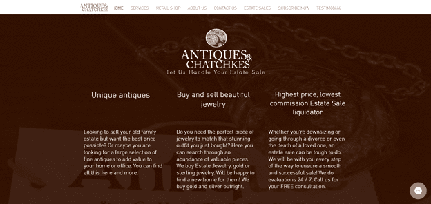 Antiques-and-Chatchkes-homepage