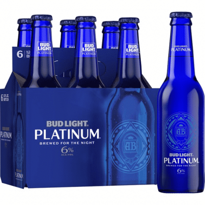 Bud Light Platinum Label