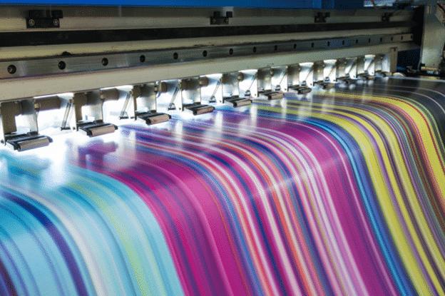 CMYK process printing