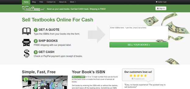 Cash-4-Books-homepage