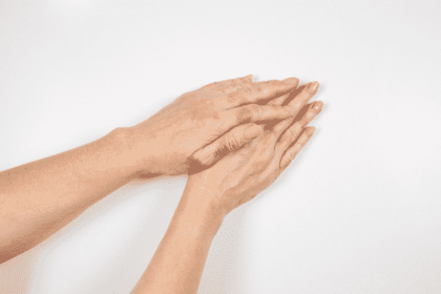 Dermatitis from the use of cleaning products
