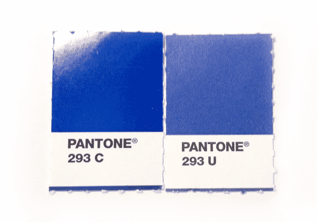 coated and uncoated Pantone colors