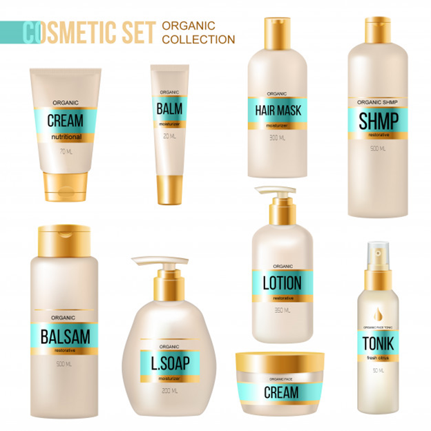 cosmetics with standout labels