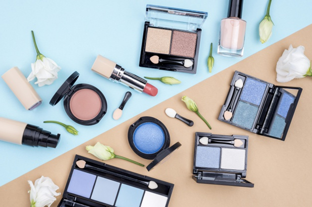Different kinds of cosmetics