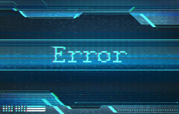 barcode error