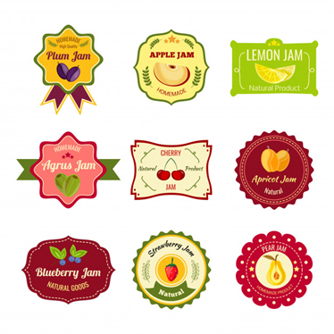 Product Labels examples