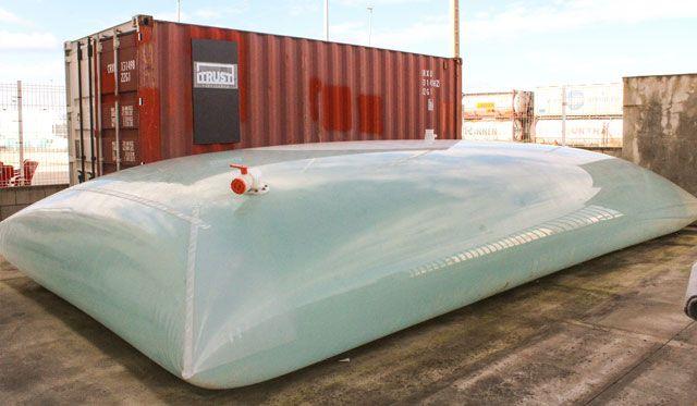 A Flexibag and Its Tank - Source: Techno Group USA