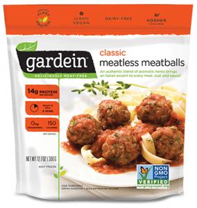 Gardein meatballs