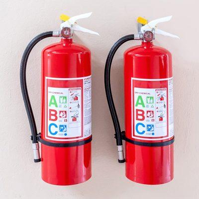 Grade-label-fire-extinguisher
