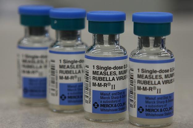 Freezer Labels for Merck MMR Vaccines