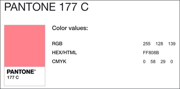 A Pantone Color Conversion Guide