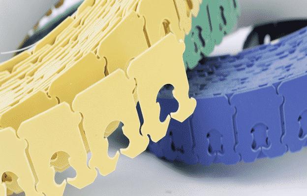 Plastic bread clips