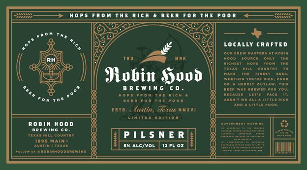 TTB-compliant beer label
