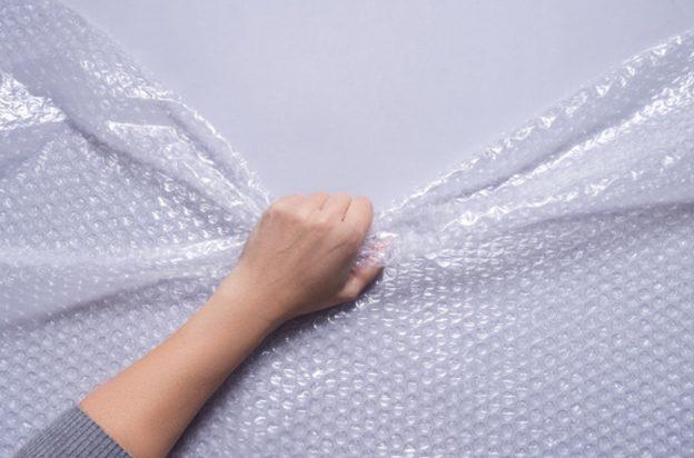 Tear-bubble-wrap