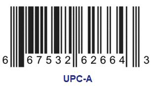 UPC-A code