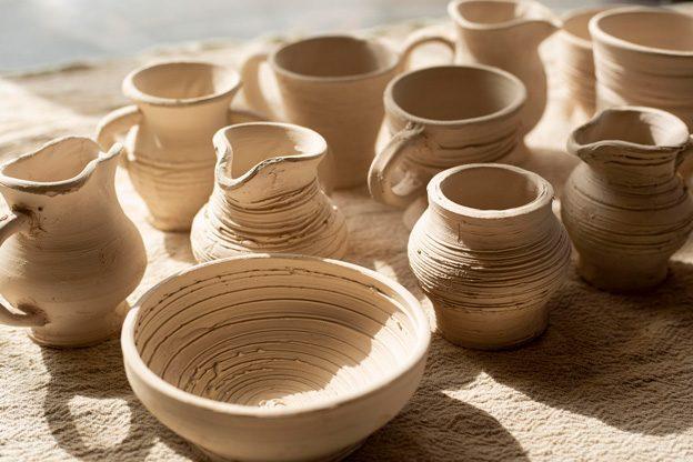 ceramic-jars-plate-pottery