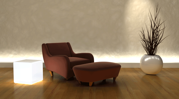 comfortable-armchair-room-decorated